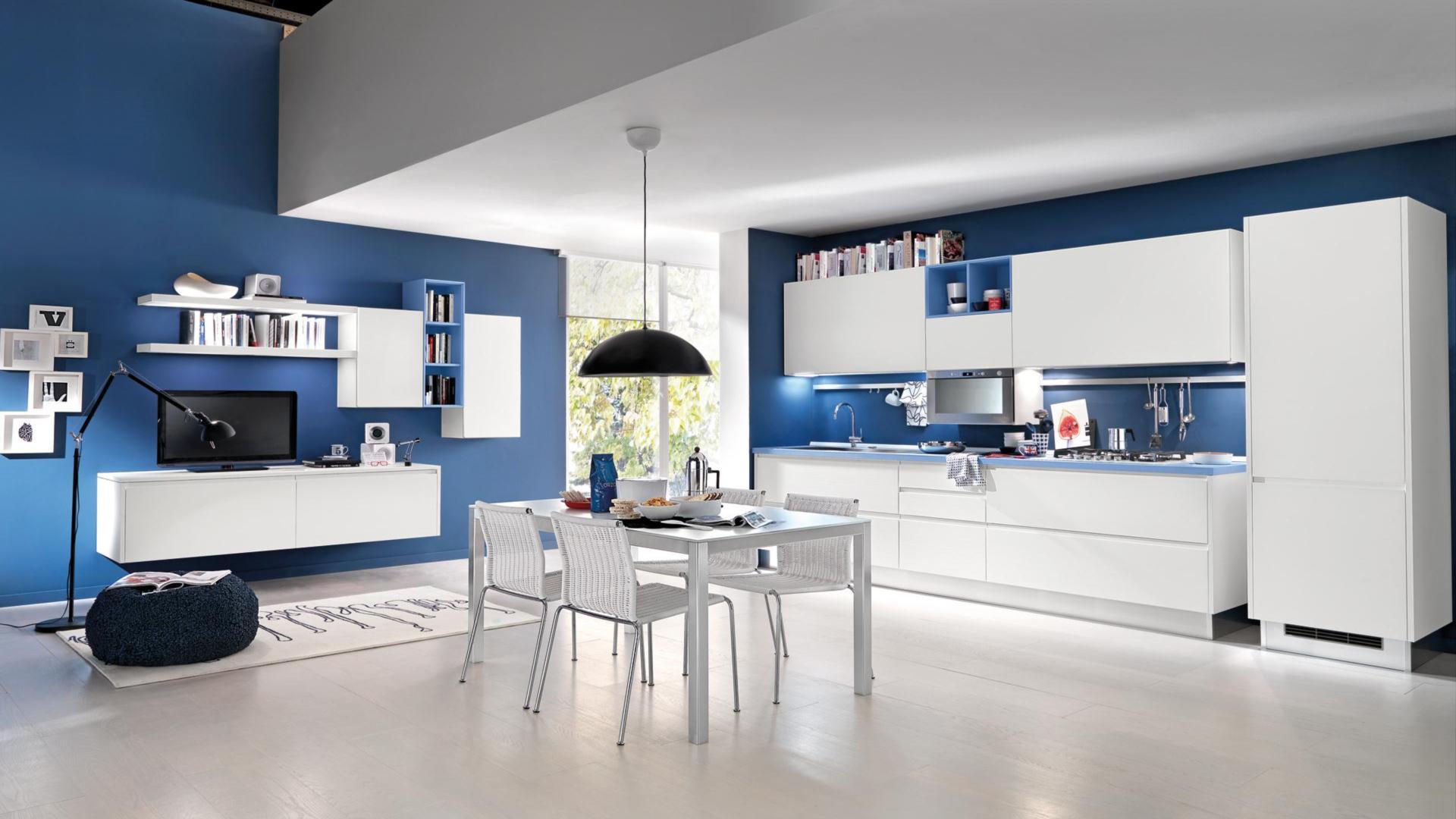 Awesome Soggiorni Moderni Lube Pictures - Design Trends 2017 ...